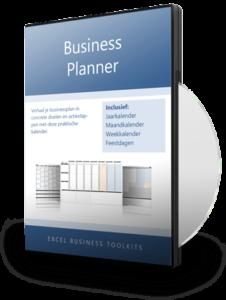 Businessplanner in Excel