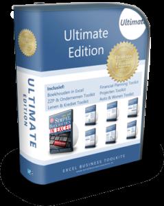 Boekhouden in Excel Ultimate Edition
