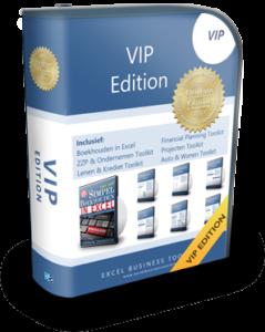 Boekhouden in Excel VIP Edition