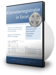 Kilometerregistratie in Excel Premium