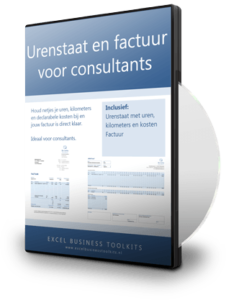 Urenstaat en factuur voor consultants