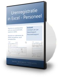 Urenregistratie in Excel voor Personeel