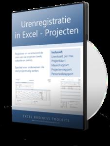 Urenregistratie in Excel voor projecten