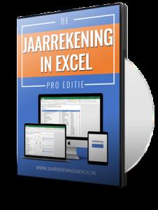 Jaarrekening in Excel